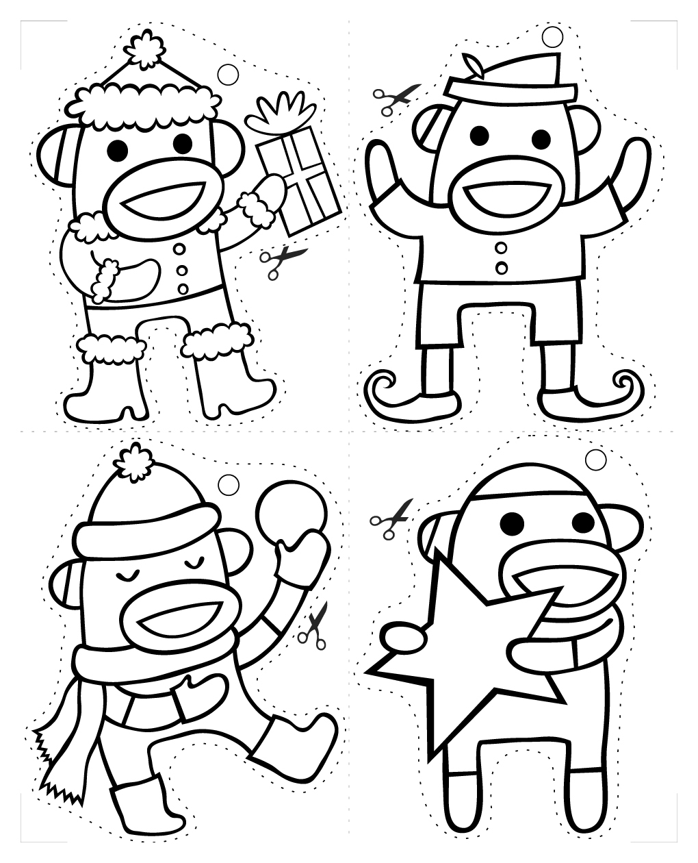 nutty coloring pages