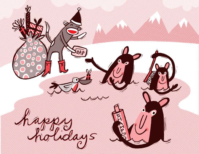 Sock Monkey Illustration Here it is: sock monkey's 2013