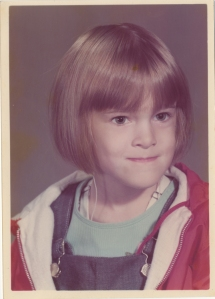 ...second grade. That's my street-tough look.