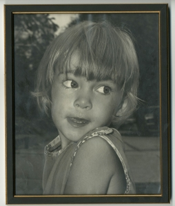 Preschool Cece, before illness and hearing aids and superpowers (except for the superpower of snot and cuteness)